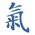 Chinese karakter voor Qi of energie in acupunctuur Praktijk Van Oosten Nijmegen